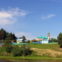 мечеть на берегу Большой Инзер :: Pavel Ushakov
