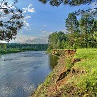 Летним днём на реке :: Юрий Кузмицкас