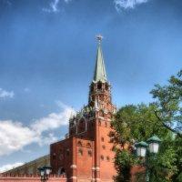 Троицкая башня Кремля :: Nika Dmitrieva
