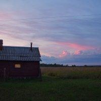 Тихий вечер. Закат нежно-розовый... :: Эльмира Суворова