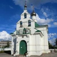 Западная Двина. Никольская церковь... :: Владимир Павлов