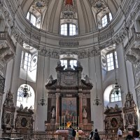 The Cathedral in Salsburg inside :: Roman Ilnytskyi