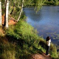 У реки. Тишина :: Наталья