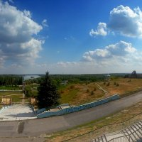 Вид со смотровой площадки. г.Азов :: Елена Борисенко