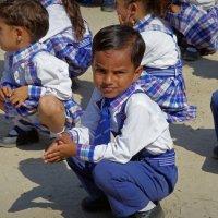 Лица Индии.Школьник. :: Михаил Рогожин