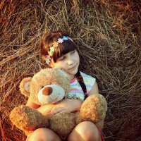Любимая игрушка :: Мария Шарунова