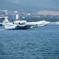 """...Как плыть по морю, но на самолете, Лететь по небу, но на корабле..."" :: Геннадий Храмцов"