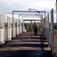 Пешеходный мост через ж/д пути. :: Фотогруппа Весна.