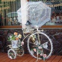 Зонтик от солнца и велосипед. :: Валентина ツ ღ✿ღ