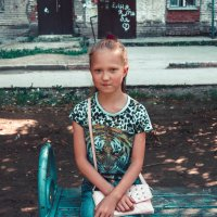 Скромненькая девочка :: Света Кондрашова