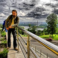 Над Днепром в пасмурную погоду... :: Носов Юрий