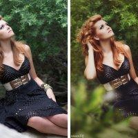простая ретушь (до и после) :: Veronika G