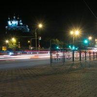 Ночной перекрёсток. :: Олег Козлов