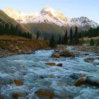 Тянь-Шань Киргизия август 2014 река Барскаун :: Рыжик