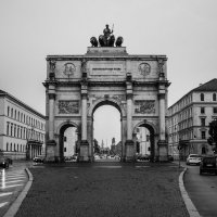 Триумфальная арка. Мюнхен :: Александра Васильченко