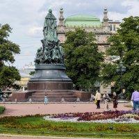 В Екатерининском саду :: Андрей Якимюк