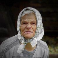 Бабушка Шура.Дер.Филисово :: Валерий Талашов