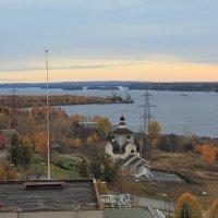 Кондопожская губа Онежского озера :: Андрей Божьев