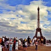 мы гуляли по Парижу :: Александр Корчемный