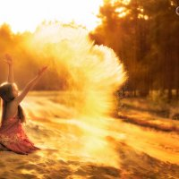 Время как песок... :: Екатерина Крутоголова