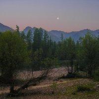 Луна, тайга, река :: val-isaew2010 Валерий Исаев