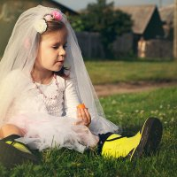 Во деревне, да на свадьбе :: Анастасия Бембак