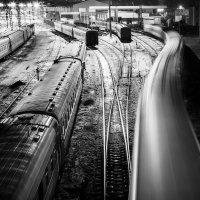Ночной поезд :: Павел Крутенко