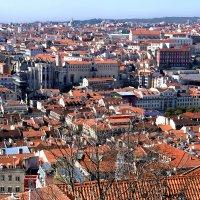 Крыши Лиссабона. Португалия :: Надежда Гусева
