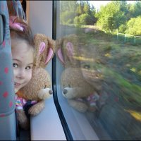 Поезд Петербург-Москва. Попутчица Майя. :: Алексей Мурыгин