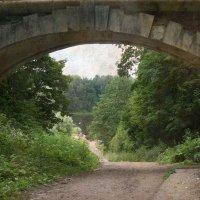 Путешествие в прошлое.Старый мост. :: lady-viola2014 -