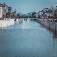 Канал в Казани в фонтанами :: Andrey Kondor