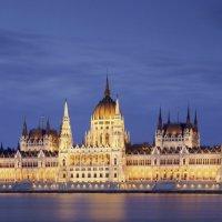 Ночной Парламент в Будапеште :: Олег Товкач