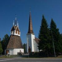 Лютеранский храм Гор. Торнио Финляндия -граница со Швецией :: Валентина Папилова