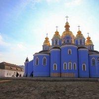 Новомихайловский Златоверхий монастырь...  Киев :: Вахтанг Хантадзе