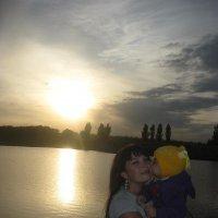 Закат солнца, красота.... :: Оля Ковалёва