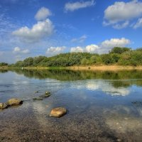 Полдень на реке :: Nikita Volkov