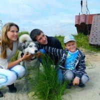 трое вместе, не считая собаки :: Оксана Иваненская