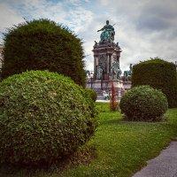 Памятник Марии-Терезии. Вена. :: Андрей Пашков