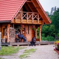 Домик в деревне. :: Инта