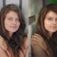просто девушка (до и после) :: Veronika G
