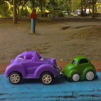 Сбежавшие игрушки ... ) :: Ольга Винницкая (Olenka)