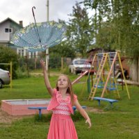 полет зонта :: Денис Шевчук
