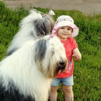 ребенок с бобиками :: Лариса Батурова