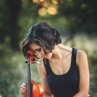 Девушка со скрипкой :: Валерий Худушин