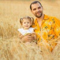 Папа с дочкой :: Dororo Прасолова