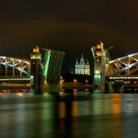 Большеохтинский мост. Санкт-Петербург :: Вячеслав Мишин