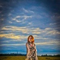фотосет в осеннем поле (31.08.2014) :: Артур Т.