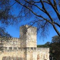 Башня крепости Сан Жоржи. Португалия :: Надежда Гусева