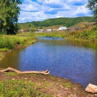 Река у деревни :: Любовь Потеряхина