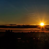 Закат в начале осени. 03.09.2014. 02. :: Анатолий Клепешнёв